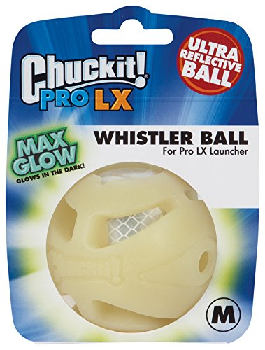 Chuckit! CU33071 Ball Pro Whistle Ball LX, Wheeze Ball für Hund
