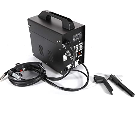 DiLiBee Poste à souder MIG 130 230V, poste à souder à fil continu, poste à souder électrique 50-120 A
