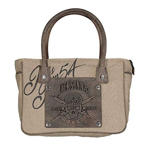 Jack's Inn 54 Panama Collection Bluefield Tasche (Stone)