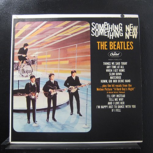 Something New - The Beatles [MONO] [Vinyl LP Record]
