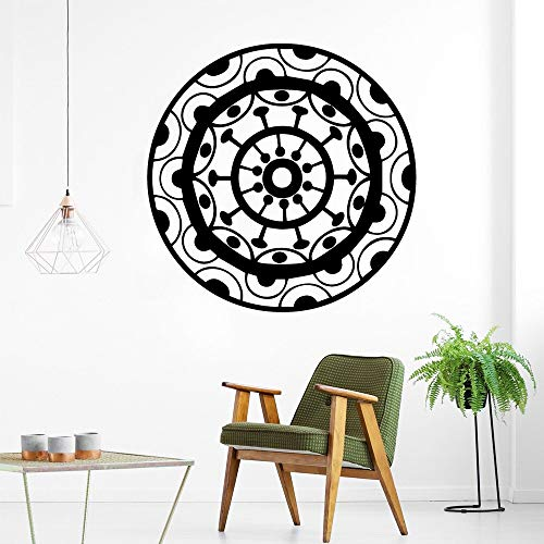 hetingyue Europese mandala muurkunst sticker decoratie mode sticker voor kinderkamer decoratie vinyl muurschildering