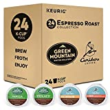 Keurig Espresso Roast Variety Pack, Single-Serve Coffee K-Cup Pods Sampler, 24 Count