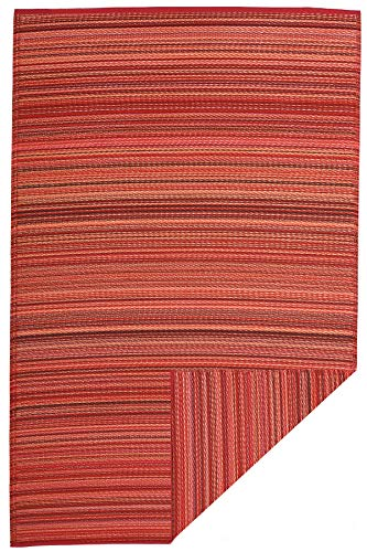 FAB HAB Cancun - Sunset Alfombra/tapete para Interiores y Exteriores (240 cm x 300 cm)