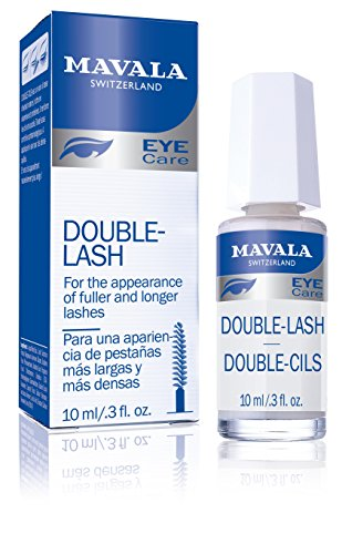 Mavala Double Lash- Strengthens Lashes Eyebrows For A Longer, Denser Stronger Effect, 10 ml
