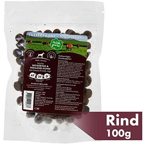 Futterprobe: Irisches Weiderind & Freiland-Huhn mit Gemüse & Kelp-Alge, Adult