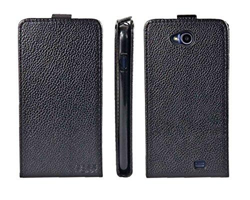 caseroxx Flip Cover für Archos 50C Platinum, Tasche (Flip Cover in schwarz)