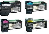 Lexmark C540H1KG C540H1CG C540H1MG C540H1YG...