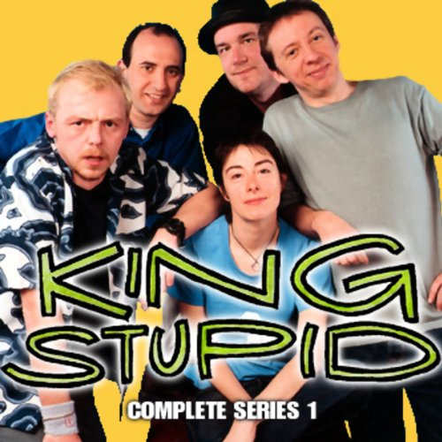 King Stupid audiobook cover art