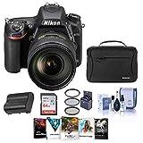 Nikon D750 DSLR Camera with AF-S NIKKOR 24-120mm f/4G ED VR Lens - Bundle with Camera Bag, 64GB SDXC Card, Spare Battery, 77mm Filter Kit, Cleaning KIt, Software Package