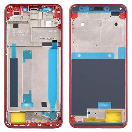 YGMOTO XIO Marco AYC Medio Bisel Placa de ASUS Zenfone 5 Lite ZC600KL (Azul Oscuro) (Color : Red)