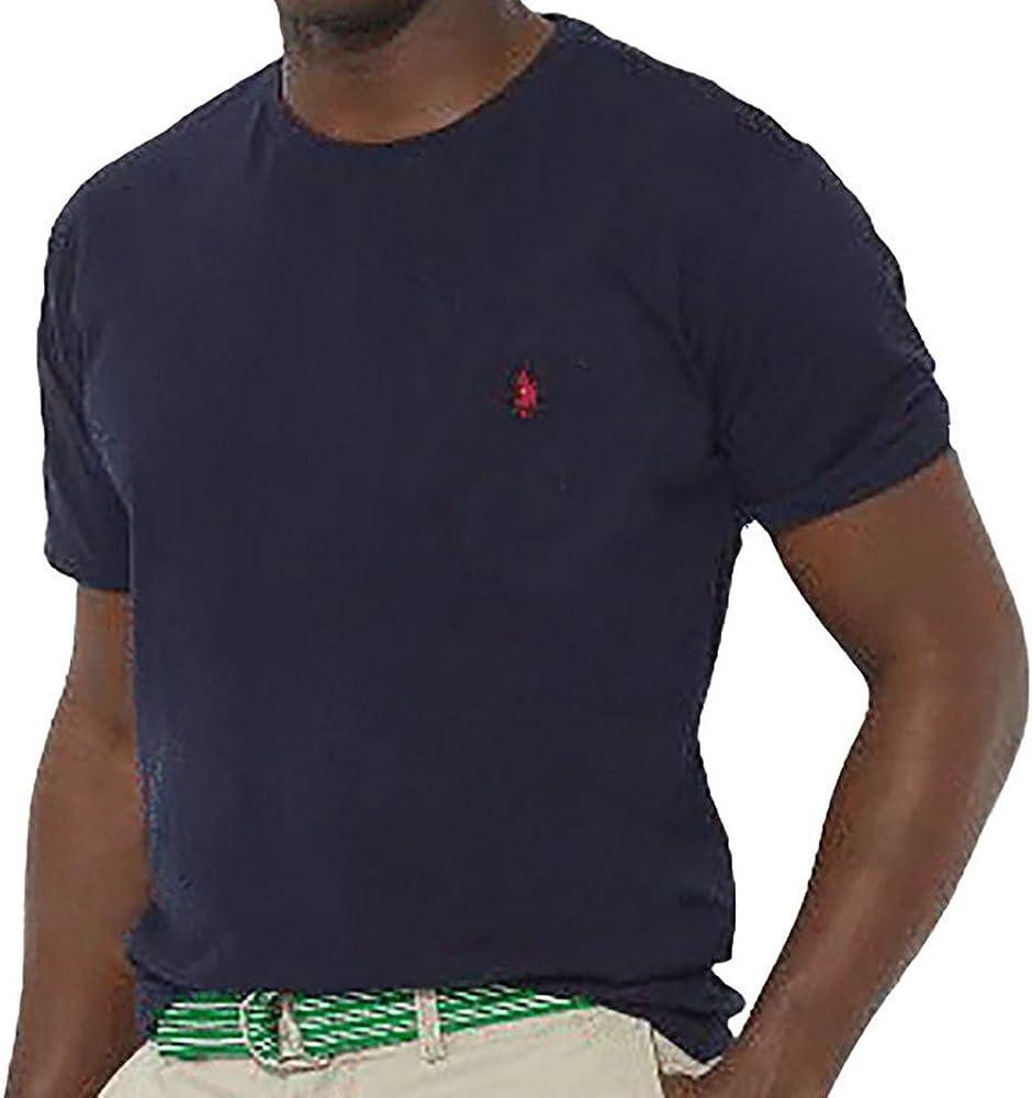 Polo RL Men's Big and Tall Crewneck Pony T-Shirt