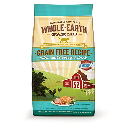 Whole Earth Farms Grain Free Real Turkey & Duck Recipe Dry Cat Food