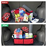 Large Car Boot Organiser by Ditu - Ultra Sturdy Foldable Car Storage To Keep Your Boot Tidy 3