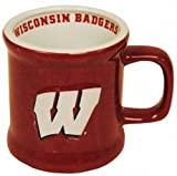NCAA Wisconsin Badgers Mug Ceramic Relief