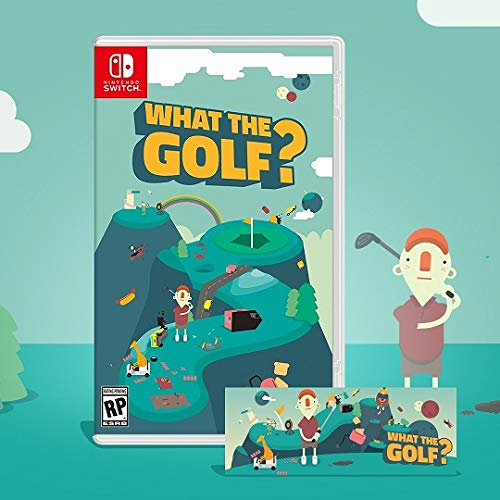 What the Golf? - Limited Edition (2500 copies) - Iam8bit - Nintendo Switch