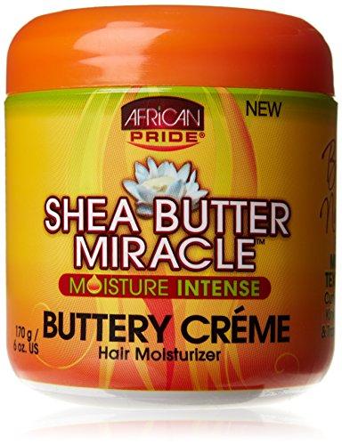 African Pride Shea Miracle Crème Capillaire Beurre de Karité