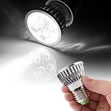 SGJFZD White 4 x 1W E27 440LMLight LED Spotlight Lighting Bulb (SKU : S-led-0113)
