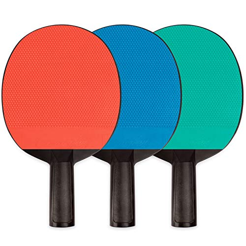 Review Poly Table Tennis Paddle w/ Rubber Face