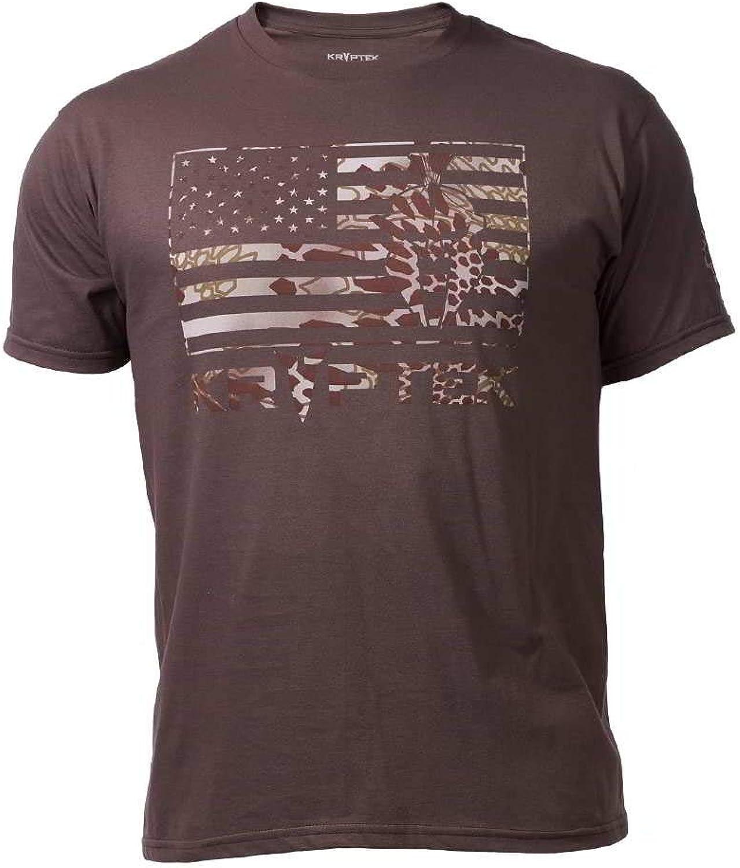 Kryptek Flag Tee Short Sleeve T Shirt