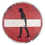 Antic Line – Cartel Vintage Sens Prohibido