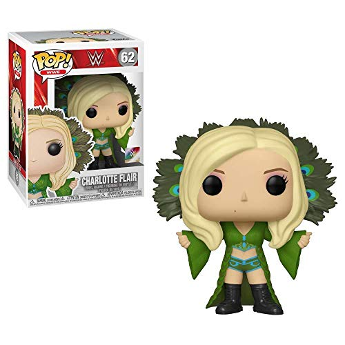 Funko POP!: WWE - Charlotte Flair, Multicolor