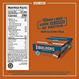 CLIF BUILDERS - Protein Bars - Chocolate Peanut Butter Flavor - 20g Protein (2.4 Ounce, 12 Count) (Now Gluten Free)