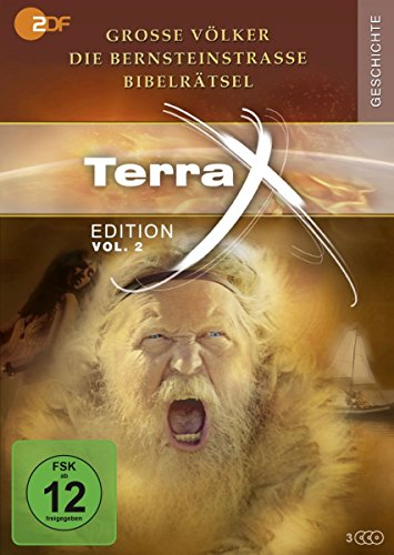 Terra X - Edition Vol. 2: Die Bernsteinstraße - Bibelrätsel - Große Völker (2 DVDs)