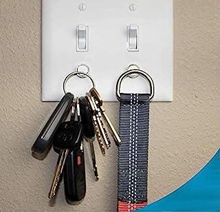 قفسه کلید مغناطیسی توسط Savvy Home (2 بسته)   دارنده کلید برای سوئیچ نور   طراحی مدرن هوشمند برای حلقه های Keychain ، کلید های اتومبیل ، کلید FOB   نصب آسان
