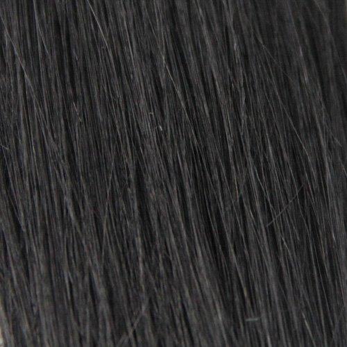 BiYa Hair Elements Thermatt Premiumline Extensions capillaires ondulées naturelles Marron cuivre Numéro 16 61 cm