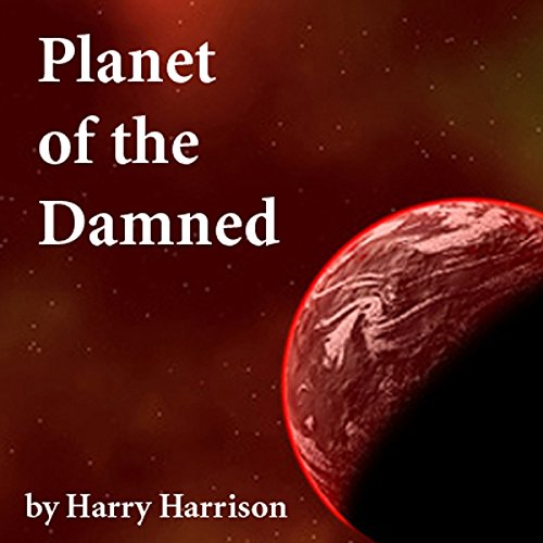 Planet of the Damned audiobook cover art