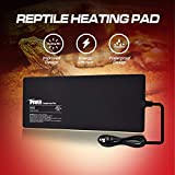 iPower 8 by 18-Inch Reptile Heating Pad Under Tank Terrarium Heater Warmer Heat Mat Larger for 60 Gallon