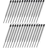 Sweetone Ricariche per penna a sfera, Set di Ricariche Per Penne Parker 30 Pezzi Parker Penna a Sfera Refill nero Parker Jotter Ricambio Parker Ball pen, economiche e di lunga durata
