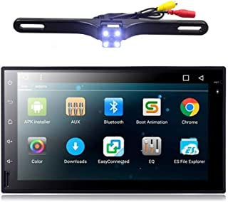 EHOTCHPOTCH Android 7.1 Double Din Car Stereo 2 Din Radio Backup Camera Touch Screen in Dash GPS Navigation with Bluetooth for Cars