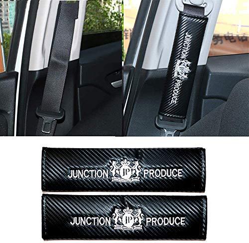DENGD 2Pcs Car Seat Belt Padding Protection Covers, For Benz VW R Lexus BMW Audi Chevrolet, Auto Safety Shoulder Strap Cushion Cover Pads