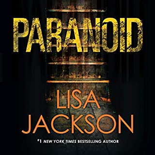 Paranoid audiobook cover art