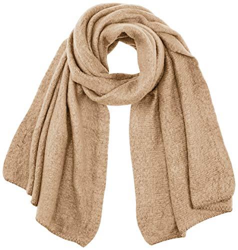 Only ONLLIMA Knit Long Scarf CC Bufanda de Moda, Crudo, Talla única para Mujer