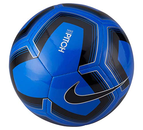 Nike Unisex-Erwachsene Pitch Training Ball, Racer Blue/Silver, 5