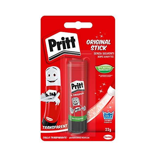 Pritt Colla Stick, per Bambini, Sicura e Affidabile, per Lavoretti e Fai da Te, con una Tenuta Forte per uso Scuola e Ufficio, 1 x 22 g