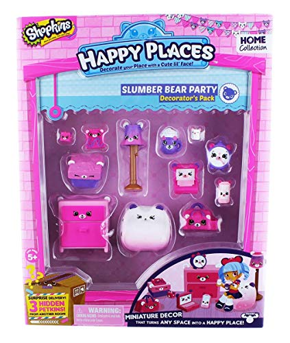 Shopkins Happy Places Season 1 Decorator Pack - Slumber Bear Bedroom