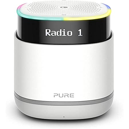 Pure StreamR Portable Rechargeable DAB Radio DAB & FM, Alexa Voice Technology and Bluetooth Streaming Digital Radio