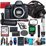 Canon EOS 6D Mark II DSLR Camera Body Only Bundle + Battery Grip + Premium Accessory...