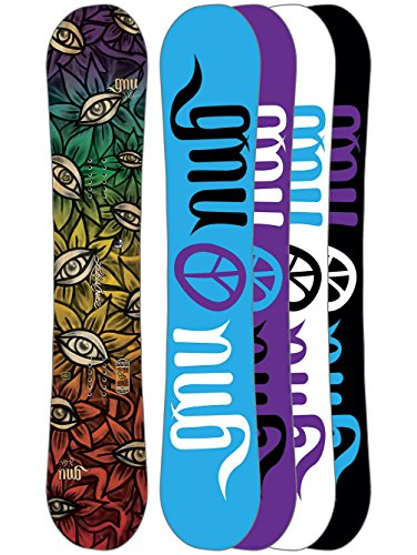 Gnu Damen Freestyle Snowboard Cc L. Choice 151.5