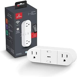 Globe Electric 50020 Collection Smart Plug, White