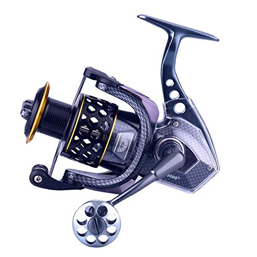 LASTARTS Kastking baitcasting reels Carrete Giratorio De Metal Carrete Liviano Súper Spinning Spinning Carrete De Pesca Carrete De Pesca Rueda De Dorada (Size : SSG6000)