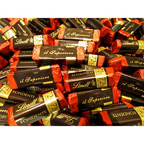 Praline Lindt L'Intenso Cioccolatini Fondente 72% da 500gr.