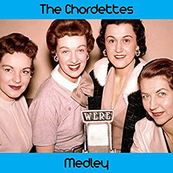 The Chordettes Medley: Mr. Sandman / Eddie My Love / Born to Be with You / Soft Sands / Come Home to My Arms / Echo of Love / Just Between You and Me / Teen Age Goodnight / Humming Bird / Like a Baby / Lay Down Your Arms / Love Never Changes