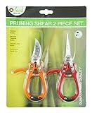 Q-yard Handheld Multi-Sharpener for Pruning Shears, Garden Hand Pruners, Gardening Scissors