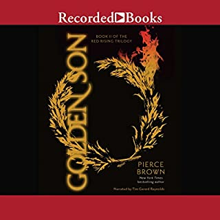 Golden Son     Book II of the Red Rising Trilogy              Auteur(s):                                                                                                                                 Pierce Brown                               Narrateur(s):                                                                                                                                 Tim Gerard Reynolds                      Durée: 19 h et 3 min     334 évaluations     Au global 4,8