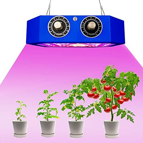MTSBW Pflanzenwachstum Licht, volles Spektrum Pflanze Fill-Licht, 3000k 5000k 660nm Infrarot-Indoor-Anlage und Blumen Pflanzenwachstum Licht für Zimmerpflanzen Gewächshäuser Veg Bloom