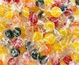 LaetaFood Assorted Fruit Sugar Free Hard Candy, Old Fashioned Candy (1 Pound Bag)